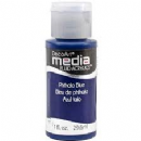 DecoArt Mixed Media Fluid Acrylic 1oz - Phthalo Blue
